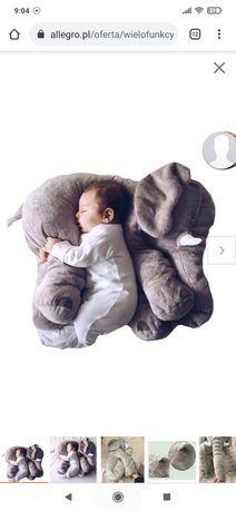 Poduszka w kształcie słonia