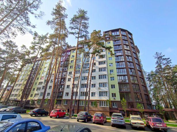 Большая квартира 59м² в ЖК Ирпенские Липки, евро двухкомнатная