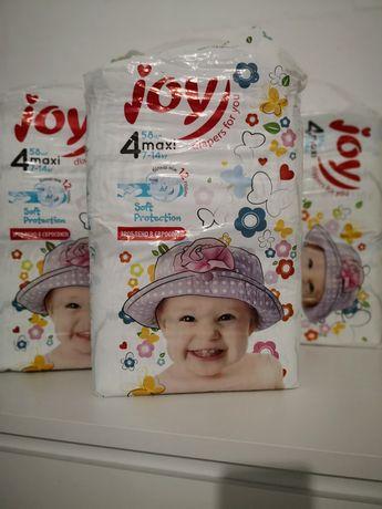 Підгузки. Подгузники Джой Joy Soft Protection 4 MAXI 7-14 кг 58 шт