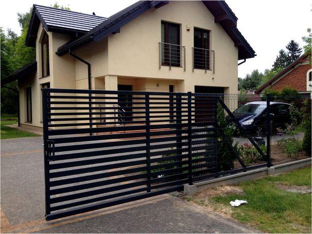 Panele ogrodzeniowe, ogrodzenia panelowe, akcesoria
