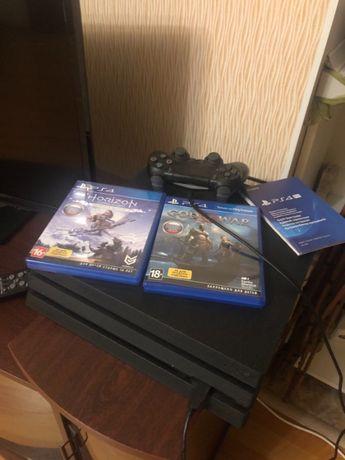 Приставка PS4 Pro 1TB Black