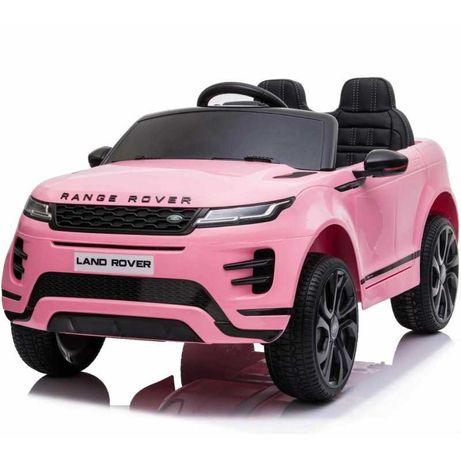 Carro eletrico com controle 12v Range Rover Evoque rosa