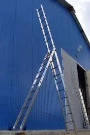 Новая 9.5 метровая лестница стремянка алюминиевая NEW KRAFT Germany