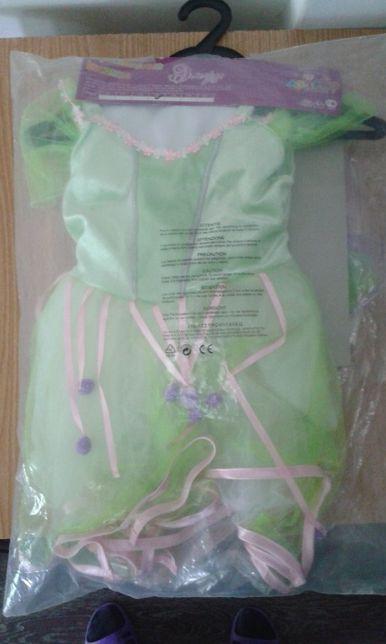 Платье, костюм для утренника Бабочка/Ангел на 3-4 года как новый
