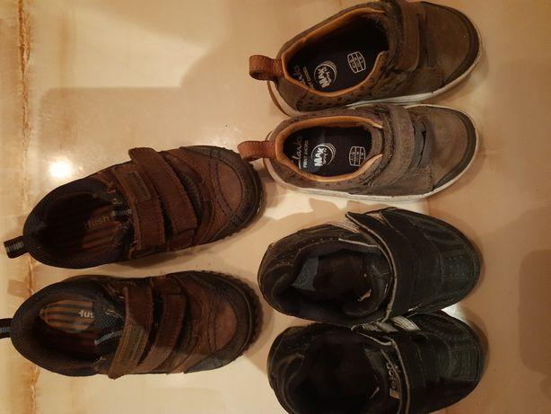 Кожаные фирменные туфли, кроссовки для мальчика
