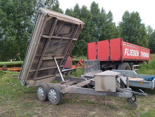 Przyczepa ciężarowa branderup wywrotka Ifor williams