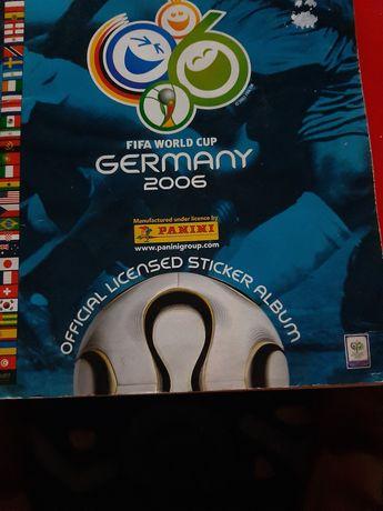 Caderneta de cromos mundial 2006 completa germany 2006