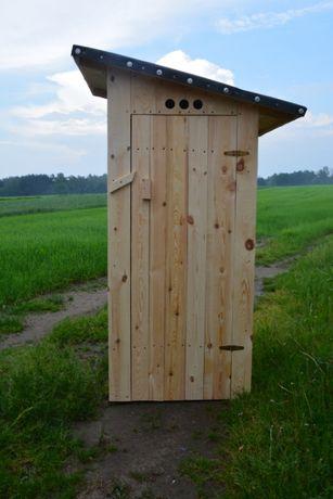 Toaleta drewniana - SKOŚNY