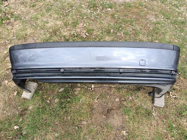Zderzak tył tylny PDC BMW E46 sedan przedlift 400/7 STAHLGRAU