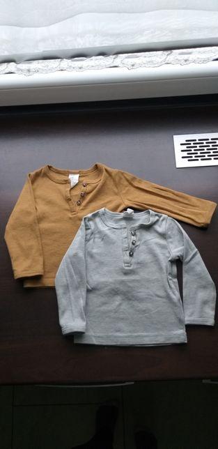 Ubranka bluzki H&M spodnie Pinokio 68