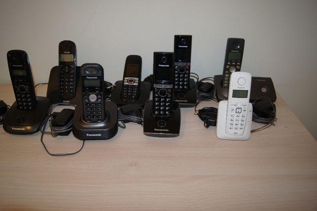 Telefony stacjonarne bezprzewodowe Panasonic, Philips, Gigaset