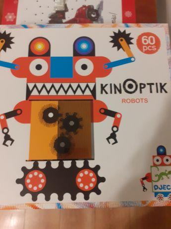 Klocki magnetyczne Kinoptyk roboty