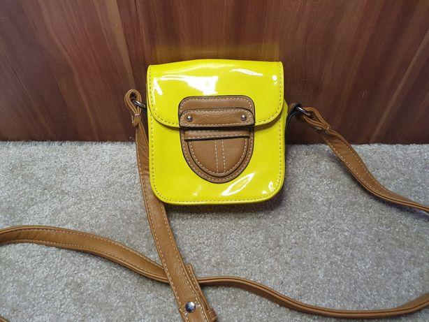 Neonowa mała torebka