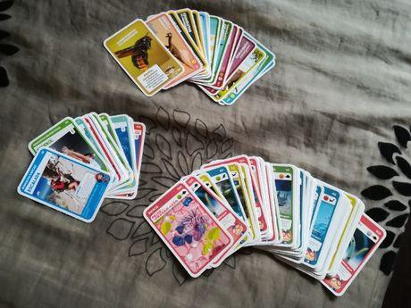 """""""Super animais"""" e """"Super Desportos"""" cartas NOVAS"""