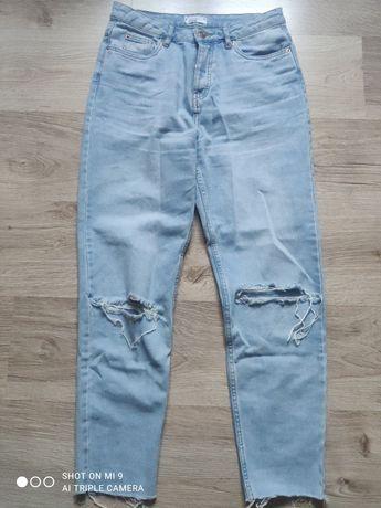 Spodnie mom jeans 38