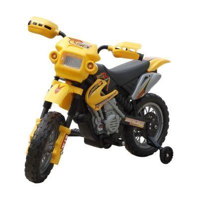 Moto elétrica infantil amarela