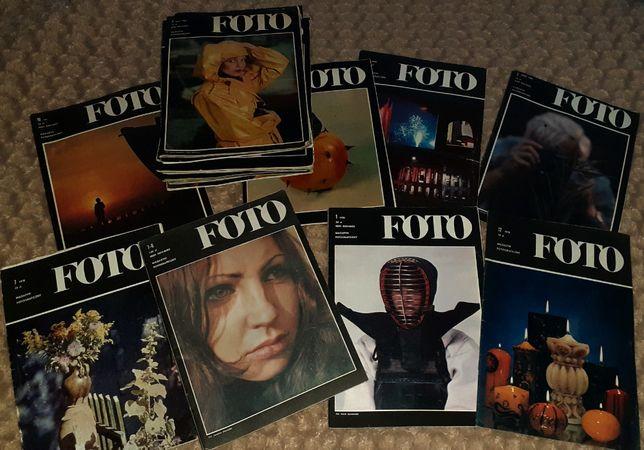 Foto - miesięczniki 78-85 25 sztuk