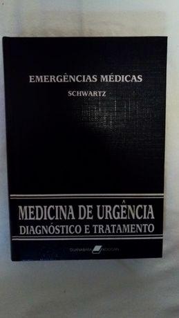 "Medicina de Urgência ""Diagnóstico e Tratamento"" - 5 volumes"