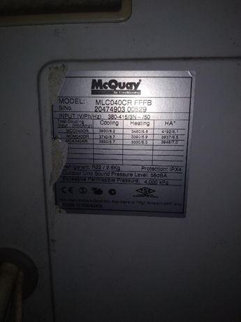 Кондиционер McQuay mlc040cr на площадь 120 м. кв.