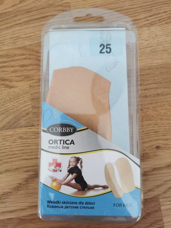 Wkładki supinujące do butów ortopedyczne Corrby Ortica 25