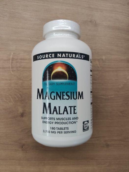 Source Naturals, Малат Магния, Magnesium Malate, 3750 Мг, 180 шт. США Харьков - изображение 1