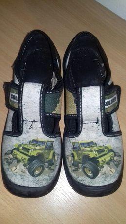 Buty chłopięce ARS 34/ niebieskie ARS 33/ kratka ARS 32 /trampki 31