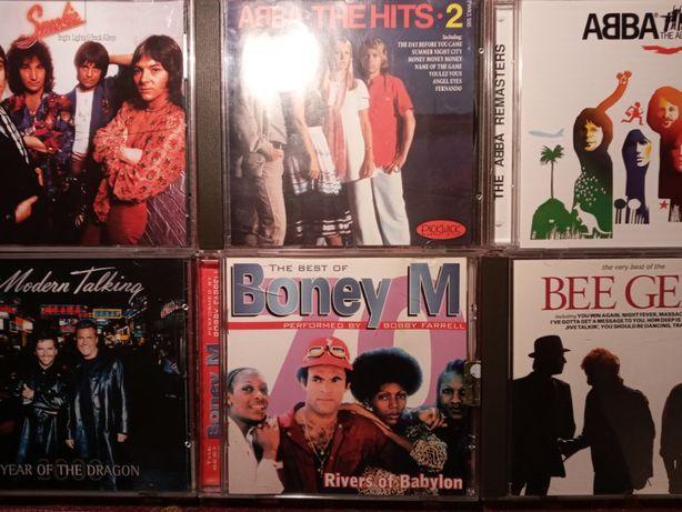 Smokie Abba Modern Talking Boney M. Bee Gees