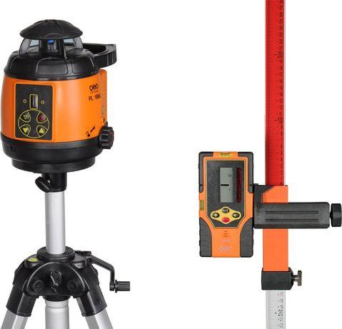 Niwelator laserowy Fl180 Geo Fennel + statyw+ łata zestaw R-15opti