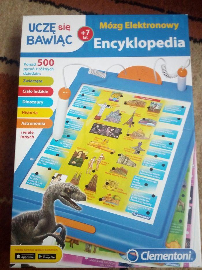 Mózg elektronowy encyklopedia Clementoni 500 pytań i odpowiedzi 7+ Lublin - image 1