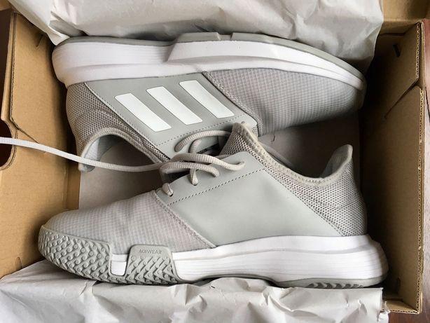 Sapatilhas de padel Adidas Gamecourt cinzentas