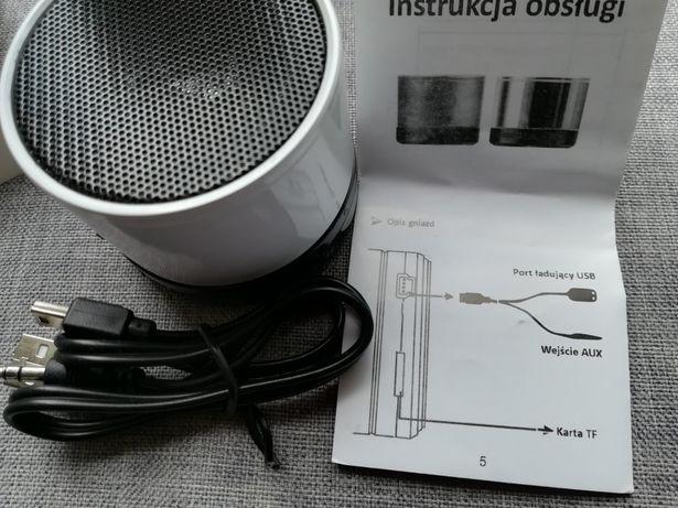 Głośnik bluetooth na kartę SD z Micro nowy zestaw