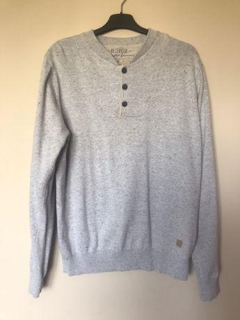 Jasnoszary sweterek Reserved L