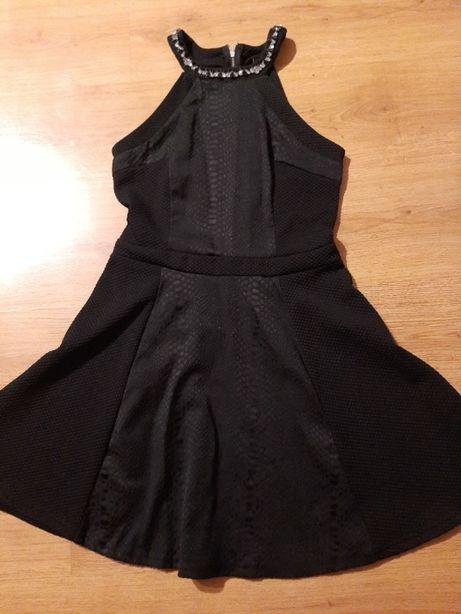 sukienka czarna jesień zima Atmosphere M/L