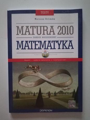Zbiór zadań i testów Matura 2010 Matematyka zakres rozszerzony Operon