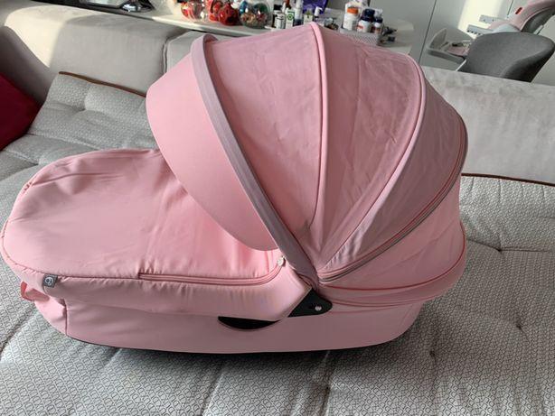 Люлька от коляски Stokee Trails розовая