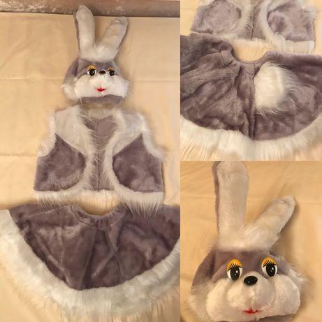 Продам карнавальные костюмы для девочки (Зайчик, Мишки, Бабочки)