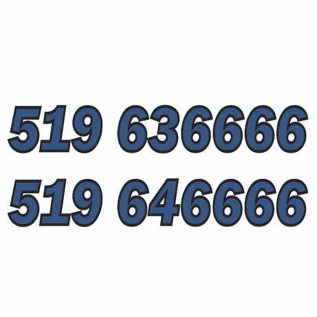 519_636666 + 519_646666 - sprzedam złotą parę numerów Orange.