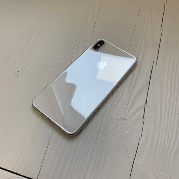 iPhone Xs Max 64 gb Silver | Neverlock | Гарантия/Обмен | Рассрочка Киев - изображение 1