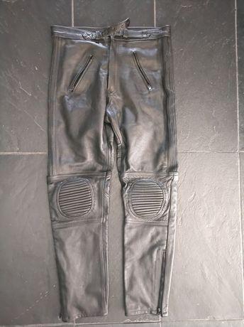 Spodnie motocyklowe GENUINE leather 34
