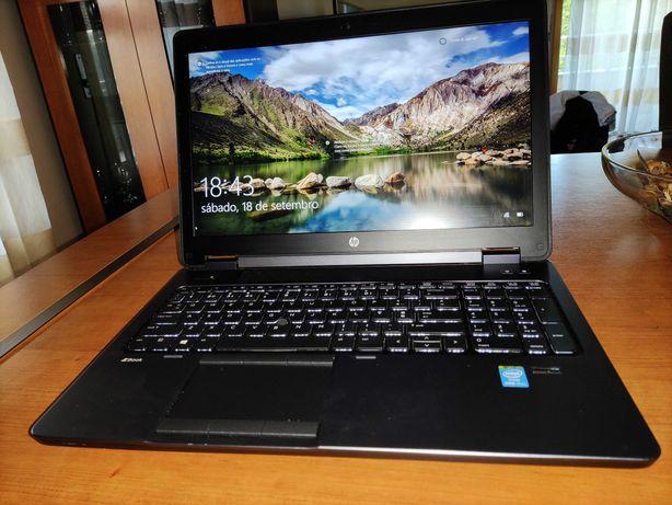 HP ZBOOK 15 Core i7  2.80 GHz 16Gb SSD QUADRO 2Gb