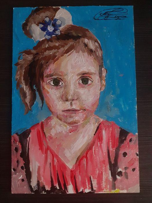 Картина - портрет девочки (акрил) Винница - изображение 1