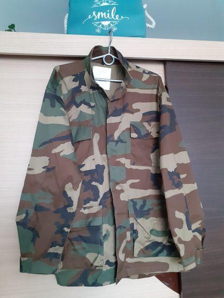 Bluza katana wojskowa woodland liceum