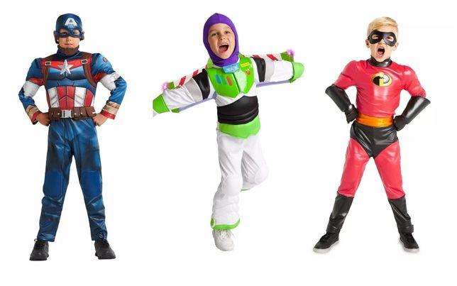 Карнавальный костюм для мальчика: Базз Лайтер, Капитан Америка