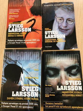 Trylogia Millenium + autobiografia Stieg Larson