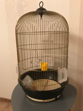 клетка для попугаев (маленьких и средних)