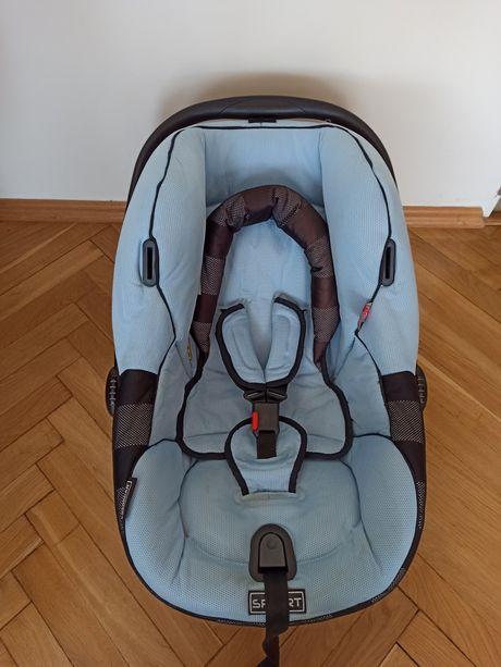 Fotelik samochodowy nosidełko Bebecar 0-9 kg + gratisy