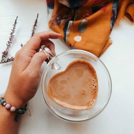 Чашки с двойным дном «Сердце»  Хит продаж