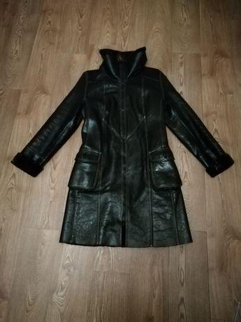 Дубленка куртка пальто плащ 42 44