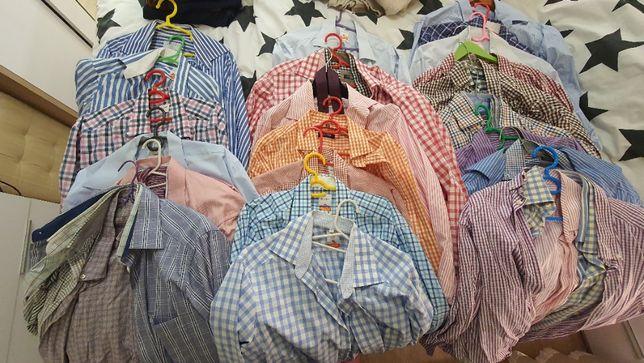 48 штук - рубашки, которые не надо гладить! (воротник 40/42см)