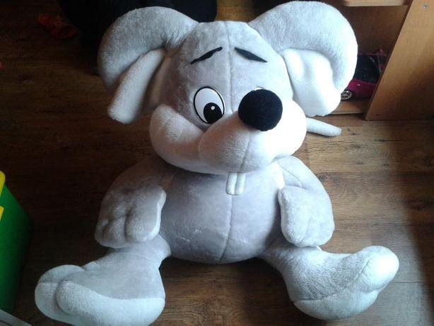 Duży pluszak, maskotka mysz, myszka, mysza ok. 80cm z długim ogonem